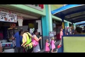 Wildwood Boardwalk Tram Ride 2013
