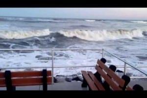 2nd St Beach In North Wildwood Winter 2013