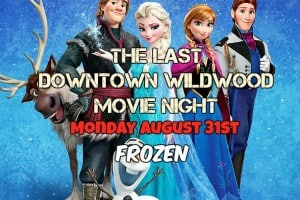 The Last Downtown Movie Night - Frozen