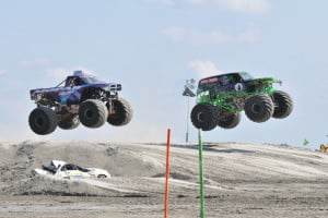 Monster Truck Beach Races In Wildwood