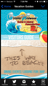 The Wildwoods Visitors Guide Page