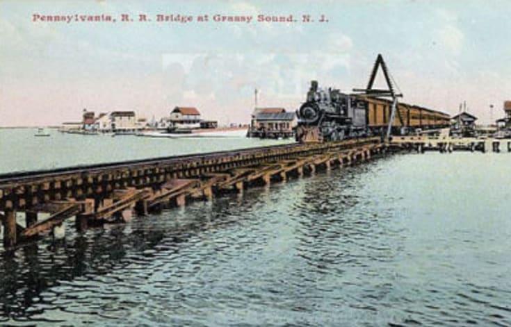Grassy Sound Bridge Post Card Wildwood Video Archive