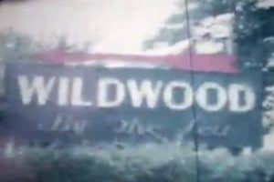 Wildwood By The Sea Sign