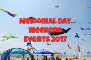 Memorial Day Weekend Events 2017