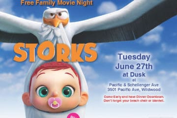 Free Family Movies Return To Downtown Wildwood