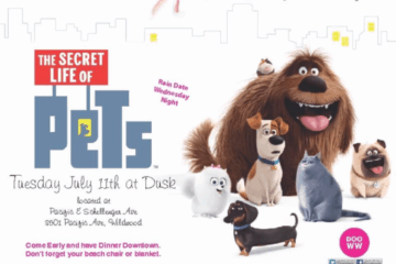 Downtown Movie Night Presents Secret Life of Pets
