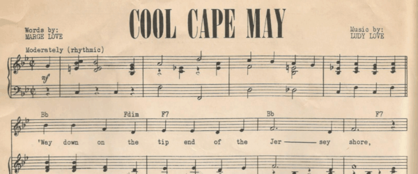 The Cape May Song You Didn't Know Existed