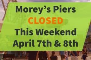 Morey's Closed Weekend