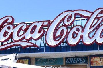 Iconic Coca-Cola Sign Relighting Ceremony