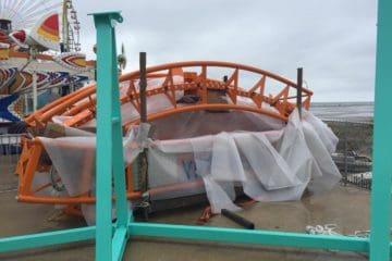 Wildwood Coaster Construction