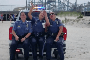 NW Police Does The Lip Sync Challenge!