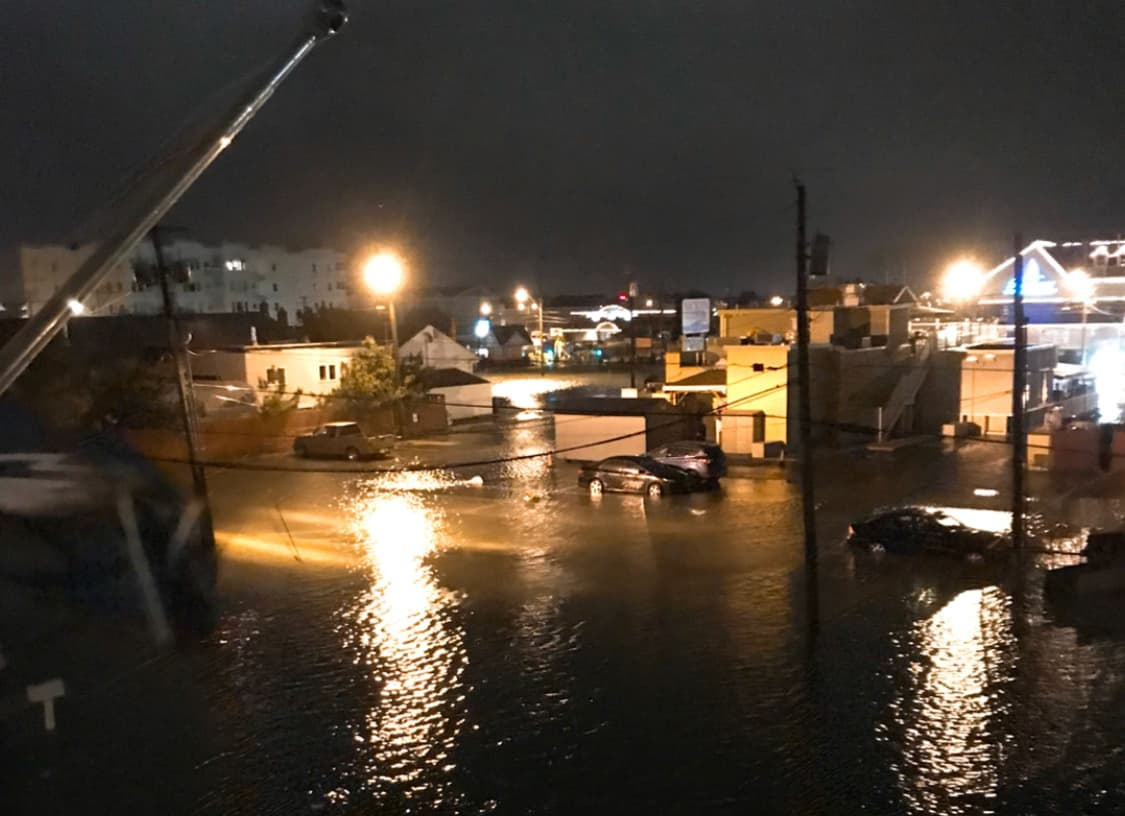 Last Night's Flooding Around Wildwood