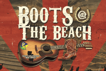 "The Country Music Festival, ""Boots at the Beach,"" is coming back to Wildwood for their 4th season!"