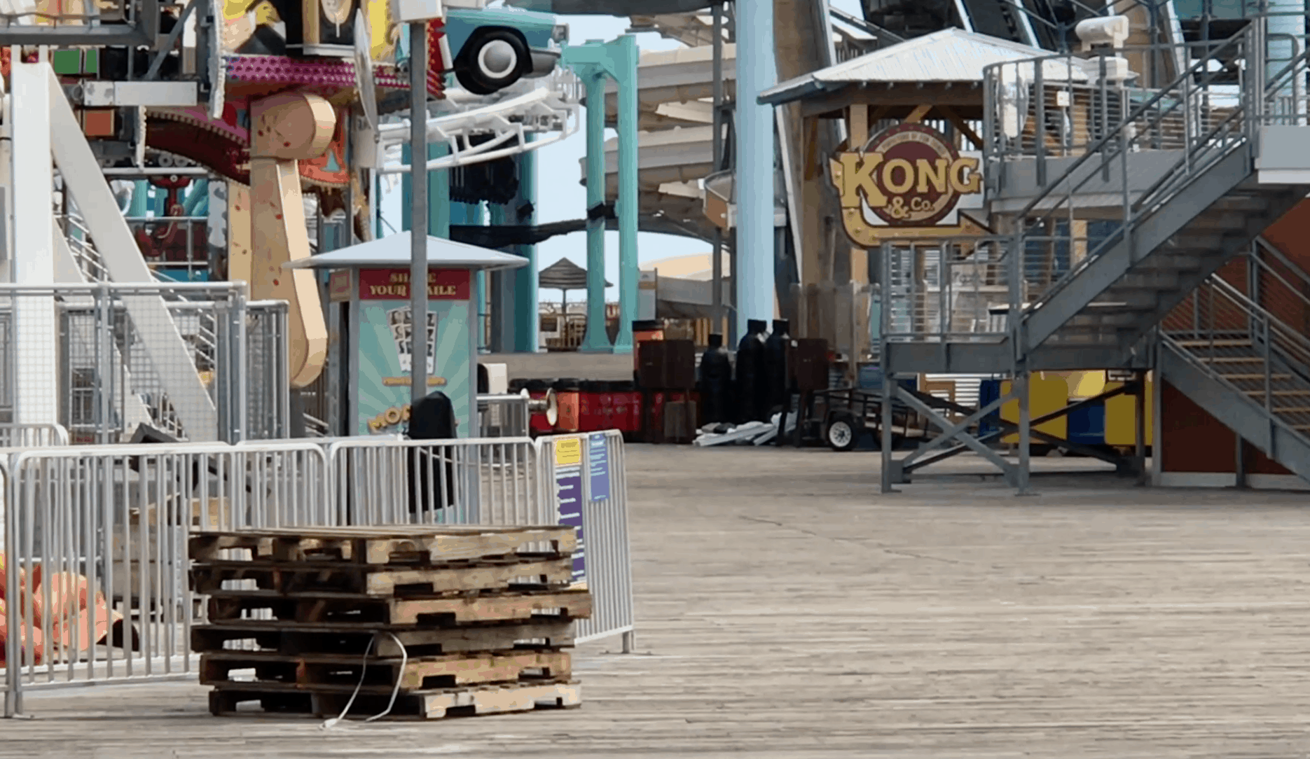 Surfside Pier Is Getting Packed Up For Winter