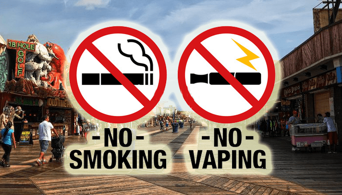 Vapors, Electric Cigs To Be Banned On Wildwood Boardwalk