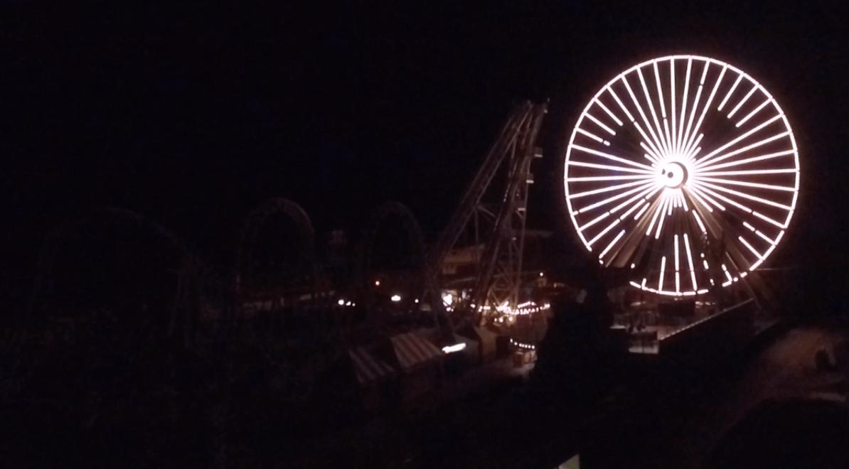 A Spooky Wildwood Ferris Wheel