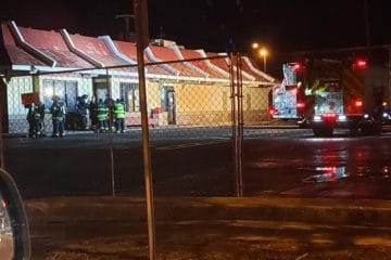 Fire Rescue Training At Wildwood's McDonalds