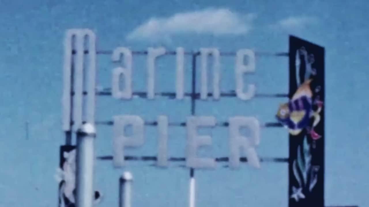 Marine Pier In 1958