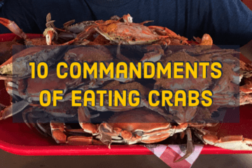 10 Commandments of Eating Crabs