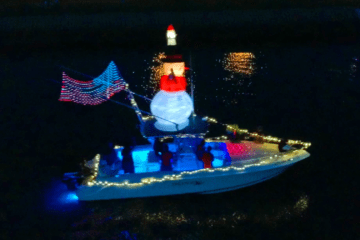 Christmas In July Boat Parade Recap Video