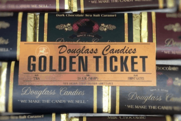 Douglass Fudge Has A Golden Ticket Contest!!!!