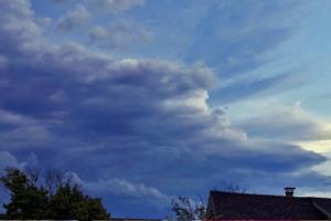 Wildwood Storm Cloud Time Lapse