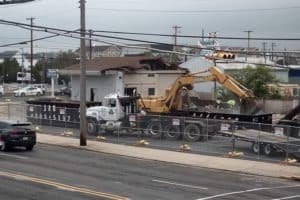 Demolition Taking Place In Wildwood