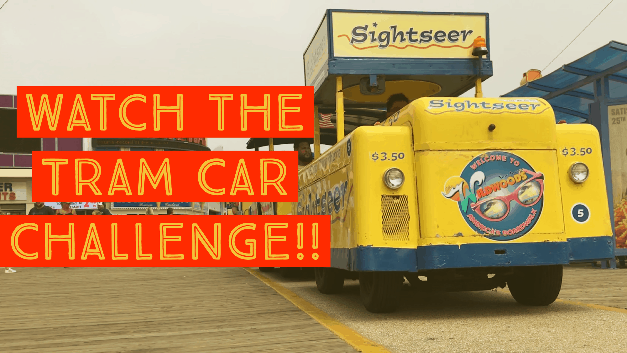 Watch The Tram Car Please Challenge!