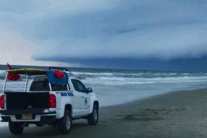 Wildwood Beach Storm Evacuation