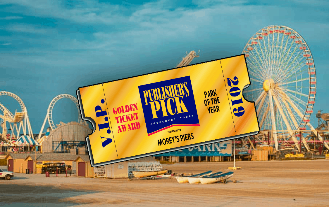 Morey's Piers Named Amusement Park of the Year!