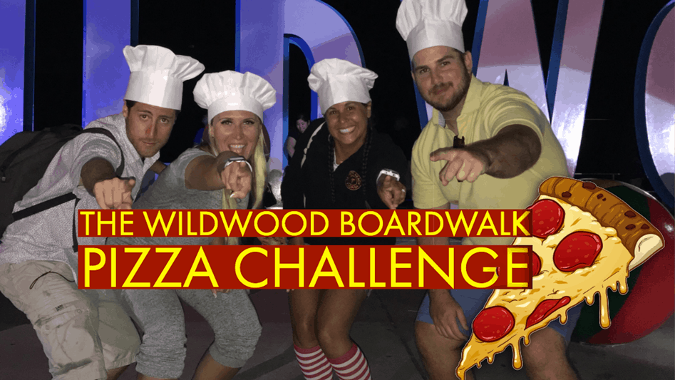 The Wildwood Boardwalk Pizza Challenge