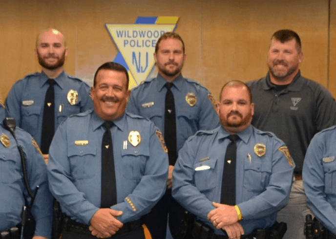 Wildwood Police Taking Part In No Shave November