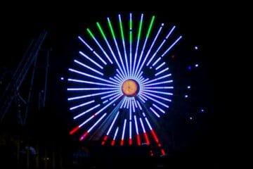 Christmas Ferris Wheel