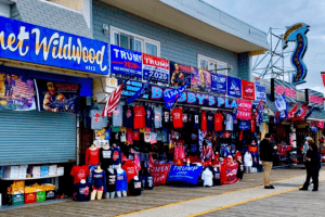 24 Hours Before Trump Arrives In Wildwood