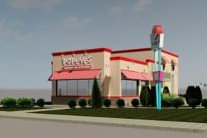 Wildwood's Popeyes Renderings Released!